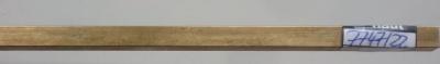 Messing -U-Profile  8x8,  1 m lang