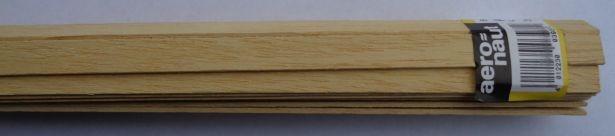 ABACHI-Vierkantleistern  1.5 x 10 mm, 1 m lang, 10 Stück
