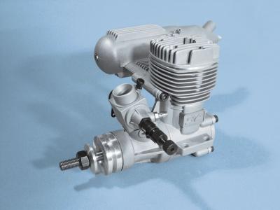 SC 46 A-ABC-MKIII, 7,5 ccm 2-Takt-Motor mit Schalldämpfer