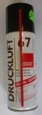Druckluft 67, Spray zum Reinigen u. Instandsetzen