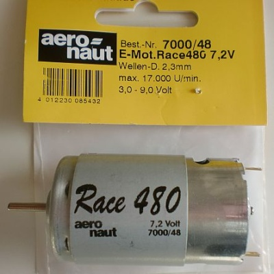 Elektromotor .Race 480 7,2V