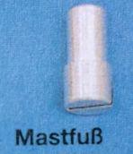 Mastfuss f.Mast 19x12