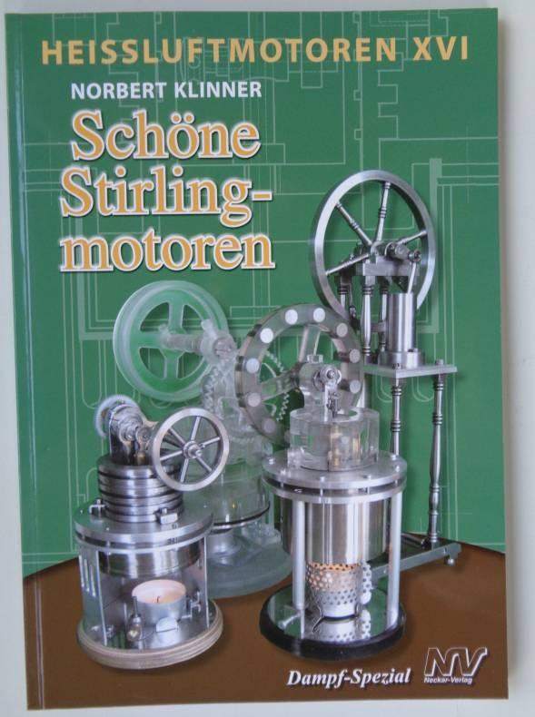 Fachbuch Heißluftmotoren XVI