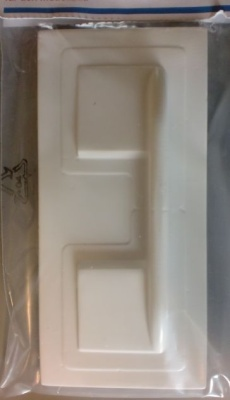 Servoabdeckung aus ABS-Kunststoff Nr.  8, 1 Paar