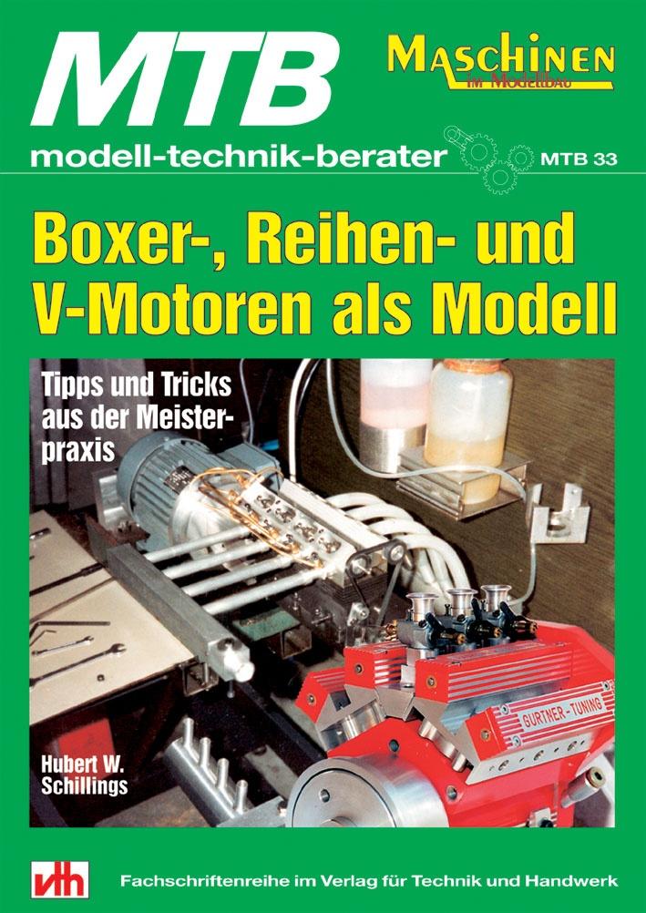 Boxer-,Reihen,V-Motoren als Modell  - vorrätig -