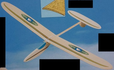AERO-FALKE 2,Segelfl-Modell (Spannw. 88 cm)