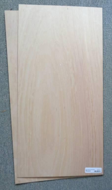 Buchensperrholz  600x300x2,0 mm