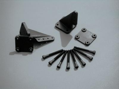 Ruderhorn XXL 35 mm, schwarz  f. Großmodelle, 2 Stück