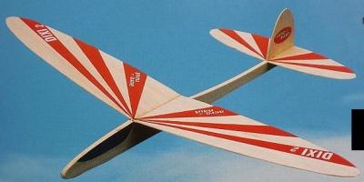 DIXI 2, Balsagleiter (Spannw. 41,5 cm)