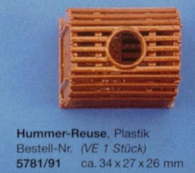 Hummerreuse, Plastik, ca. 34 x 27 x 26 mm