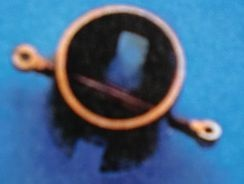 Mastfuss, messing Ø 14x14 mm, 1 Stück
