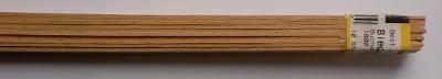 5 Stück Biegeleisten Buche 1.5 x 10 mm, 1 m lang