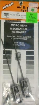 Micro-Haupteinziehfahrwerk für Elektromodelle  - vorrätig -
