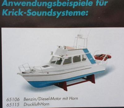 Soundmodul Druckluft-Horn