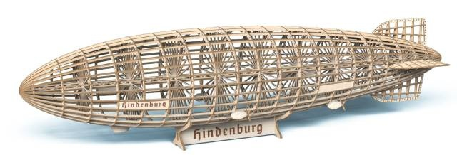 LZ 129 Hindenburg - Zeppelin - Länge: 60 cm