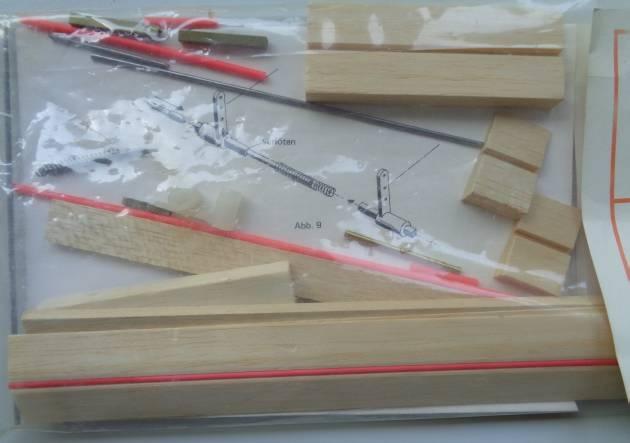 Bremsklappen für Segelflugmodelle