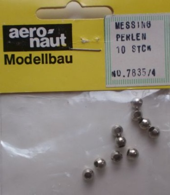 MESSINGPERLEN 4 mm