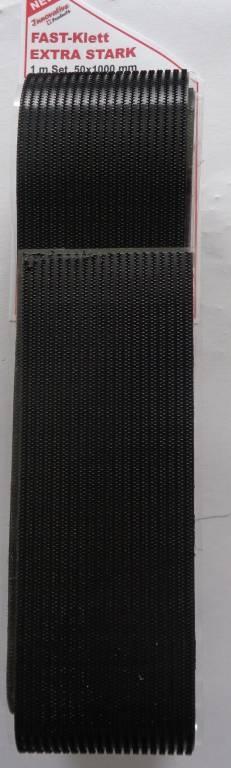 FAST-Klett, Extrastark. 50x1000mm 1 + 1 Stück