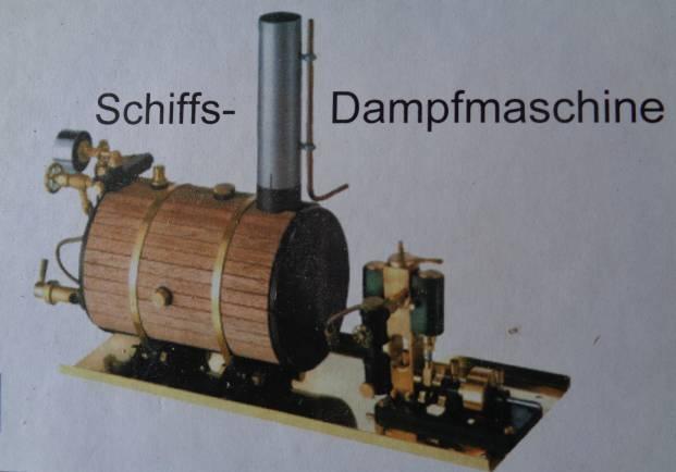Victor Dampfmaschine horizontal