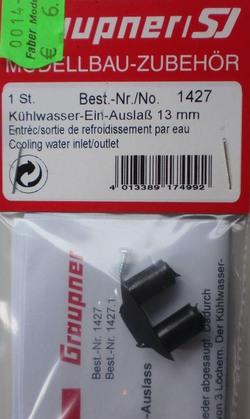 Kühlwasser Ein-Auslass 13 mm
