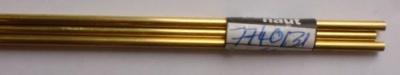 Messingrohr  3.0/2.1 mm, Länge 1 m, 1 Stück