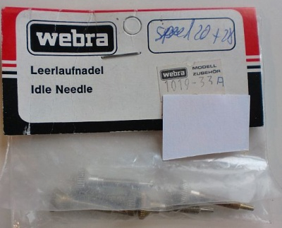 Leerlaufnadel f. Speed 20+28, 1 Stück