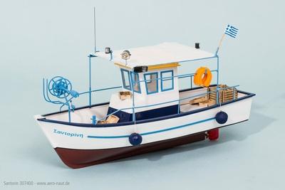 Fischkutter Santorin, Länge 51 cm   - NEU -