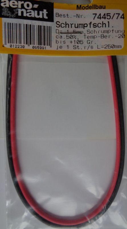 Schrumpfschlauch 1,5mm