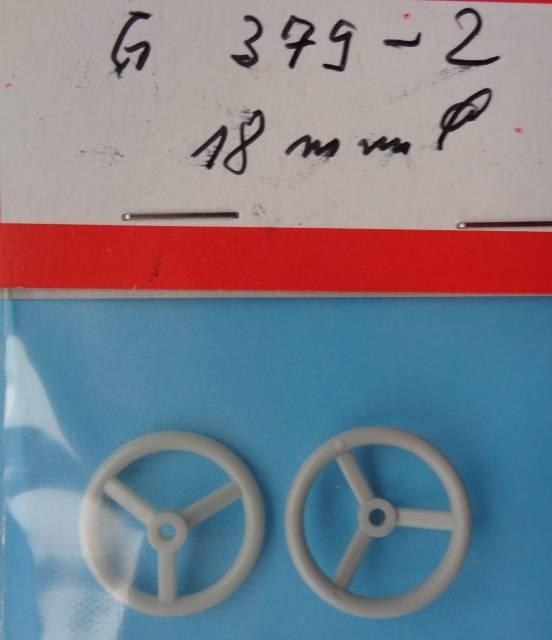 Steuerrad D 18 mm, 2 Stück
