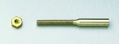Löthülsen M2,5, Bohrung 2,1 mm, 10 Stück