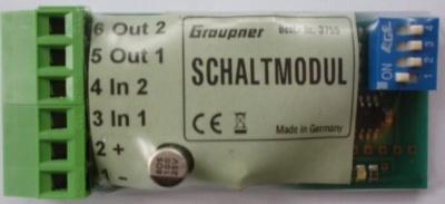 programmierbares Schalt-und Umpolmodul, Spannung 6-14 V