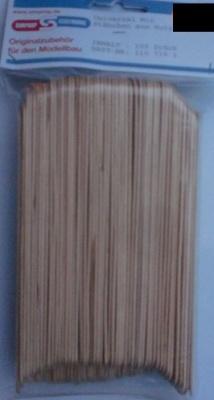 Universal Mix-Stäbchen aus Holz  - 100 Stück -