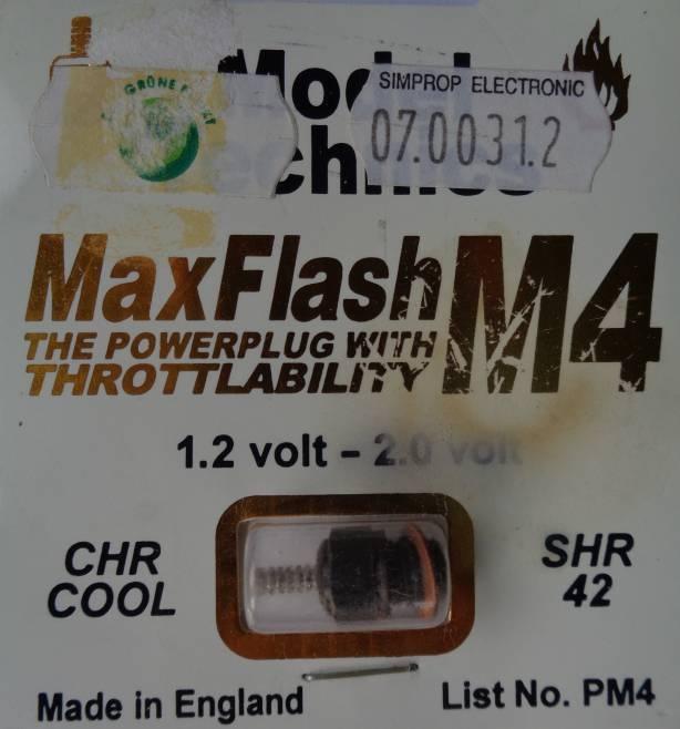 Gllühkerze MAX FLASH  M 4, kühl