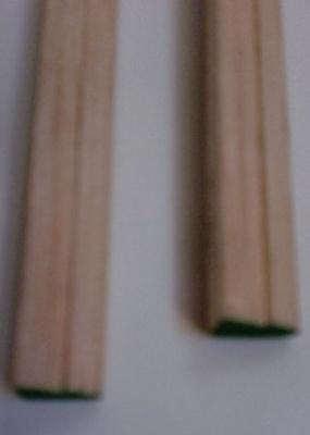Balsa-Nasenl. m.Einfräsung, 1 Stück
