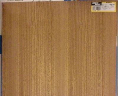 Mahagoni-Sperrholz, Stärke 1,5 mm, 118 x 35 cm