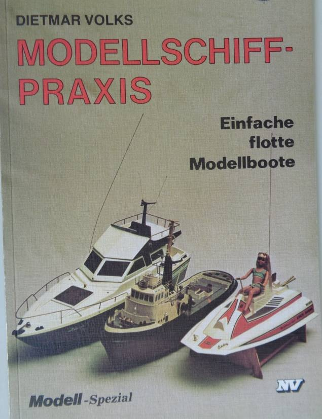 Fachcbuch Modellschiff-Praxis