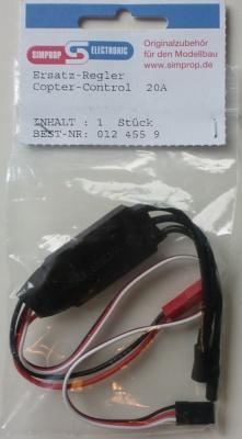 Ersatz-Regler Copter-Control 20 Amp.