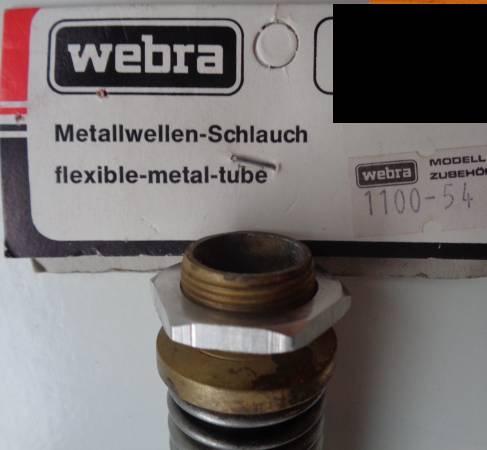 Metallwellen-Schlauch