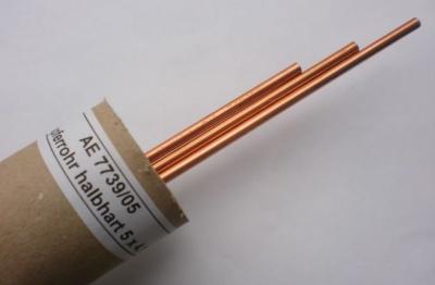 Kupferrohr 5/4mm halbhart, 1 m lang