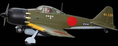 Mitsubishi A6M Zero (ARF)  (Spannw. 170 cm)