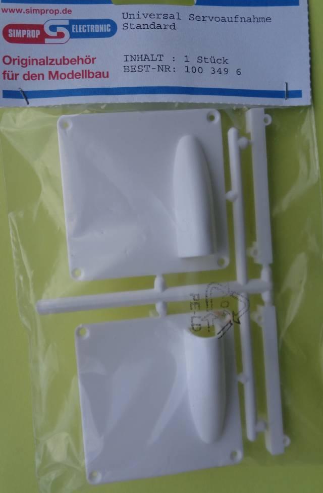 Universal Servoaufnahme, Standard, 1 Paar   - Neu -