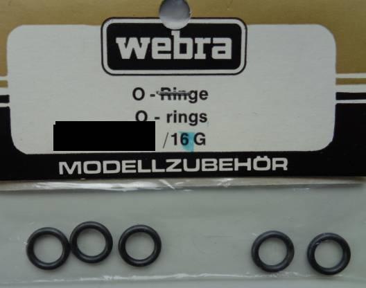 Datz Dichtungsringe (O-Ringe), 6 Stück
