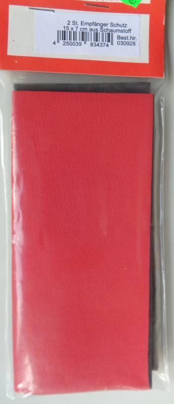 2 Stück Empfänger-Schutz 15 x 7 cm