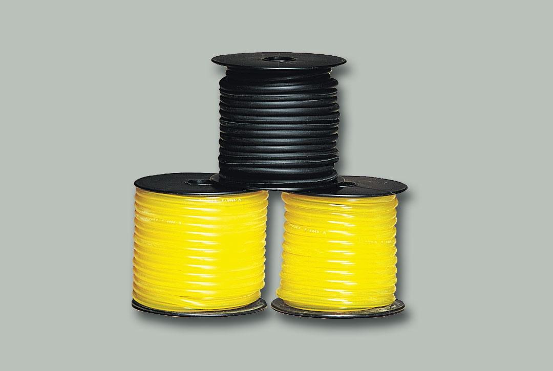 Tygon-Benzinschlauch, gelb, 7,9 m, Innen-Ø 4 mm