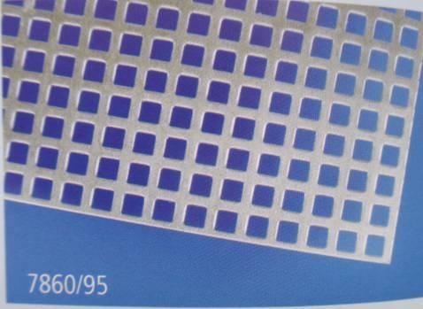 Gitter-Blech aus Aluminium, 1 Stück