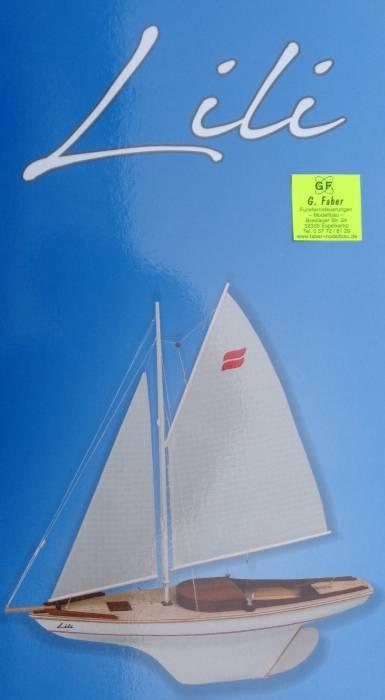 Segelboot Lili ( Länge 60 cm)