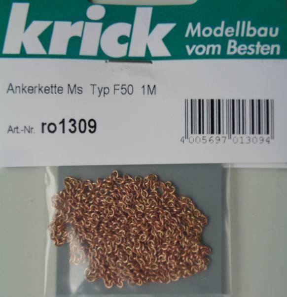 Ankerkette Ms  Typ F50 , Länge 1 m