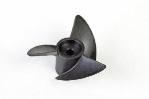 Hydropropeller Ø 40 mm, 3-Blatt, rechts