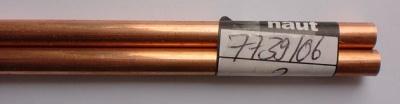 Kupferrohr 6/5mm halbhart, 1 m lang