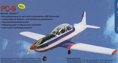 PC-9 - 75 (ARF)  -Spannw. 160 cm -